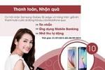 Thanh toán trực tuyến, nhận quà Samsung Galaxy S6 edge