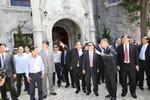 Thủ tướng Lào đến thăm Bà Nà Hills