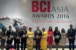 Sun Group vào Top 10 Chủ đầu tư tại BCI Asia Award 2016