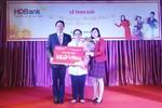 HDBank trao thưởng 1 kg vàng SJC cho khách hàng may mắn
