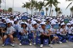 """1.000 học sinh tham gia """"tuần lễ công dân nhỏ"""", kêu gọi bảo vệ Sơn Trà"""