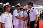 Chiến hạm mang tên lửa của hải quân Singapore cập cảng Đà Nẵng