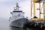 Tàu tuần tra Hải quân Brunei cập cảng Đà Nẵng