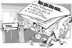 """Phụ huynh bức xúc vì nhiều """"khoản thu tự nguyện"""" của trường Búp Sen Xanh"""