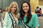 Hình ảnh đầu tiên của Hoàng Anh tại Miss Earth