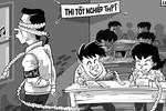 Lộ diện mảng tối giáo dục từ hàng nghìn bài thi bị điểm liệt