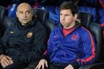 Messi bứt rứt, ngồi dự bị như ngồi ghế lửa