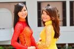 Top 10 Miss Nghệ đẹp rạng ngời với áo dài