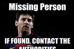 Biếm họa: Messi lại chơi trò trốn tìm ở Munich