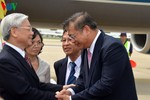 Hình ảnh mới nhất về hoạt động của Tổng Bí thư tại Thái Lan
