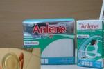 Hoang mang vì uống phải sữa Anlene lắng đầy cặn cứng