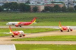 VietJet tăng 500 chuyến bay từ Hà Nội, TP.HCM