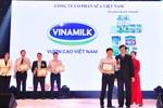"""Vinamilk nhận giải thưởng """"Tin và Dùng"""" năm thứ 3 liên tiếp"""