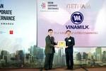 Vinamilk nhận giải Quản trị công ty trong khối ASEAN