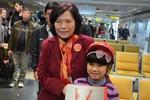 Sếp Vietjet tặng quà, chúc mừng năm mới hành khách