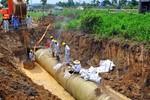 """Sau nghi án """"thông thầu"""", Vinaconex hủy mua ống nước của Trung Quốc"""