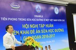 Vinamilk tiên phong trong chương trình Sữa học đường vì một Việt Nam vươn cao