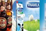Habeco, Vinamilk, TH true MILK thương hiệu quốc gia ngành thực phẩm đồ uống