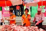 Intimex chung tay tiêu thụ thịt lợn cùng bà con chăn nuôi