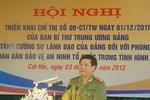 Cách chức Phó Giám đốc Công an TP. Hải Phòng Nguyễn Bình Kiên