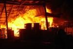 Bắc Giang: Cháy lớn ở công ty may, hơn 1000 xe máy bị thiêu rụi