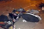 Bị yêu cầu dừng xe vì đi sai làn, đâm CSGT nhập viện