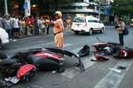 Phó Giám đốc Sở VH-TT&DL TPHCM gây tai nạn liên hoàn