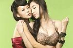 Elly Trần phô trương vòng 1 ngoại cỡ bên sao phim cấp 3 Trung Quốc