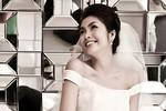 Tăng Thanh Hà xinh đẹp như thế nào khi mặc váy cô dâu?