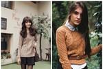 Nàng công sở mặc đẹp: Xinh yêu với họa tiết vặn thừng