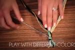 Nhật ký tỉ mẩn và lọ mọ: Tự chế vòng tay từ chỉ thêu chữ thập
