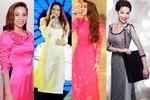 Các biểu tượng thời trang showbiz e ấp áo dài