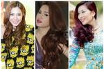 6 màu tóc được sao Việt 'cưng chiều'