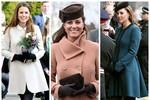 Thời trang bầu của công nương Kate