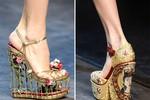 10 kiểu giày nổi bật sàn diễn thu đông
