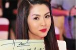 Cận cảnh chữ ký xấu - đẹp của hoa hậu, ca sỹ Việt