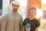Vy Oanh khoe ảnh chụp cùng 'mỹ nam' Hồi giáo