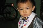 Lần đầu rõ mặt con trai thứ 3 của danh hài Quang Thắng