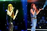 Hai em của Kim Loan The Voice 2012 khiến sân khấu 2013 'bùng nổ'