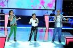 Vũ Song Vũ chiến thắng ngoạn mục tại Đối đầu The Voice Kids