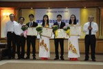Đoàn Việt Nam giành thắng lợi lớn trong Olympic Hóa học quốc tế 2015