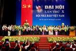Đồng chí Thuận Hữu tái đắc cử chức Chủ tịch Hội Nhà báo Việt Nam