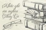 Những bài thơ hay về ngày 20/11 dành tặng thầy cô