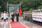 Lễ đón trọng thể Tổng Bí thư, Chủ tịch Trung Quốc Tập Cận Bình