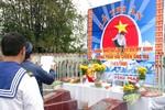 Ảnh: Những người lính Gạc Ma xúc động tại lễ tri ân đồng đội