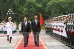Chủ tịch nước chủ trì lễ đón chính thức Tổng thống Barack Obama