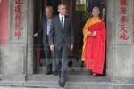 Những hình ảnh đầu tiên của ông Obama ở TP.Hồ Chí Minh