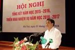 Chủ tịch Hà Nội đã biết học sinh phải nhịn đi tiểu vì nhà vệ sinh quá bẩn