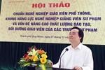 Tiêu chuẩn của giáo viên cốt cán trong quan điểm của Bộ trưởng