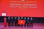 Khai mạc Olympic Vật lý châu Á lần thứ 19 tại Việt Nam